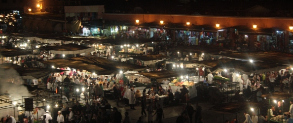 Markets in Marrakesh